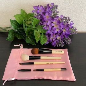 Bobbi Brown Cosmetic Brushed 4 Pieces